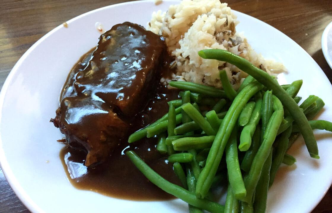 イギリス留学での学校での食事がおいしくない