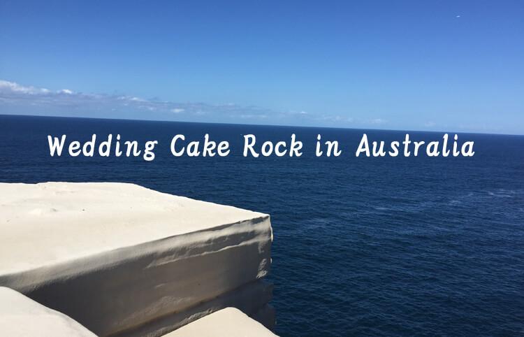 Wedding cake rock